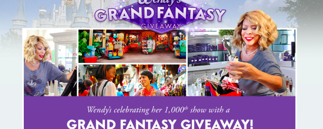 Weekly Grand Vacation Giveaway in Disneyland!