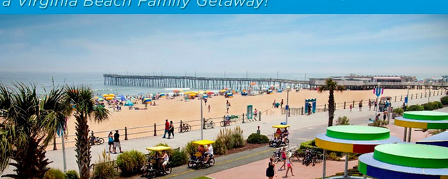 Family Getaway at Virginia Beach!