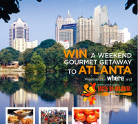 Explore Atlanta with this trip for 2 contest!